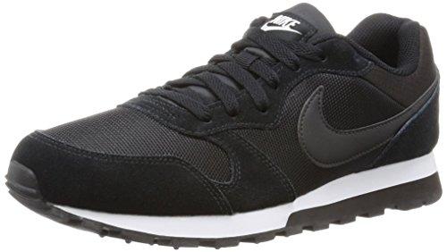 Nike Damen, Sneaker, Md Runner 2, Black (Black/Black-White), 38 thumbnail