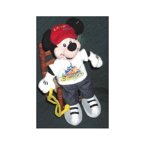 "Disney Mickey Mouse Clubhouse Disneyland Resort Mickey Mouse 6"" Plush Bean Bag Doll - 1"