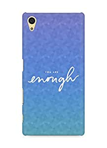 AMEZ you are enough Back Cover For Sony Xperia Z5