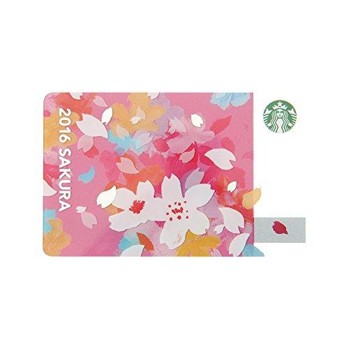 スターバックス カード Starbucks 2016 さくら チアリー