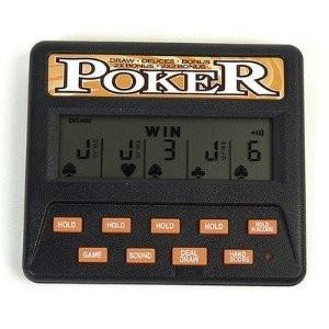 Classic 5-in-1 Poker Electronic Games (Electronic Poker Game compare prices)