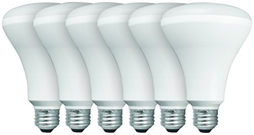 TCP New 65 Watt Equivalent, 6-Pack BR30 LED Flood Light Bulbs, Non-Dimmable, Soft White, RLVBR306527ND6 (Tcp Led Bulbs compare prices)