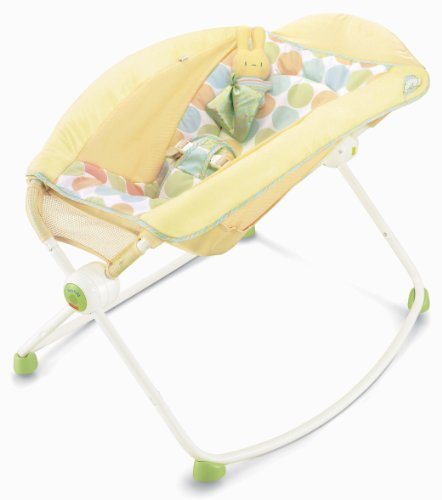 Fisher-Price Newborn Rock 'N Play Sleeper, Yellow