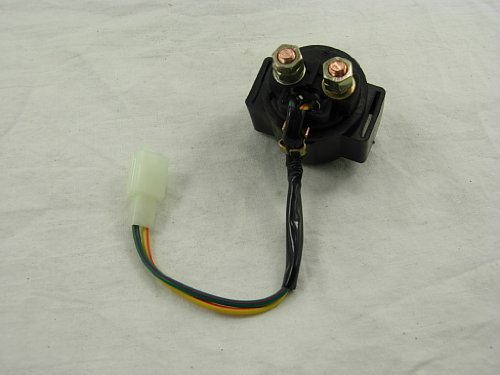 Scooter Starter Relay Solenoid Relay Gy6 50cc 150cc Chinese ATV 4-stroke @62427 - 1