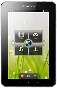 Lenovo A1 Tablet de 7 pulgadas (TI 3622, 1GHz, 512MB RAM, Memoria flash 16GB, Android OS) [Importado de Alemania] negro