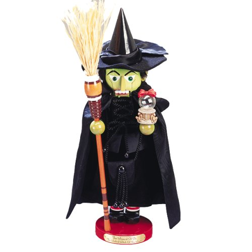 41HcPpbyaDL Kurt Adler 21 Inch Steinbach Wizard of Oz The Wicked Witch of the West Nutcracker