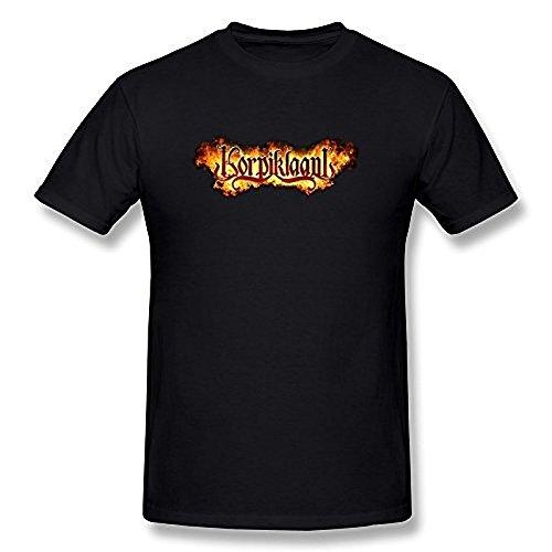 Men's Korpiklaani Logo T Shirt Black