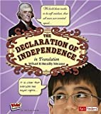 The Declaration of Independence in Translation [Scholastic]: What It Really Means (Kids Translations)
