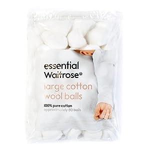 Baby Care Cleansing bolas de algodón Waitrose 80 por paquete en BebeHogar.com