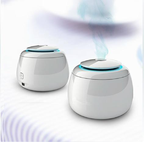 おしゃれ で 人気 超音波式 usb 卓上 エコ 加湿器 携帯 に 便利 な サイズ で 防カビタイプ HH-503W (ホワイト)