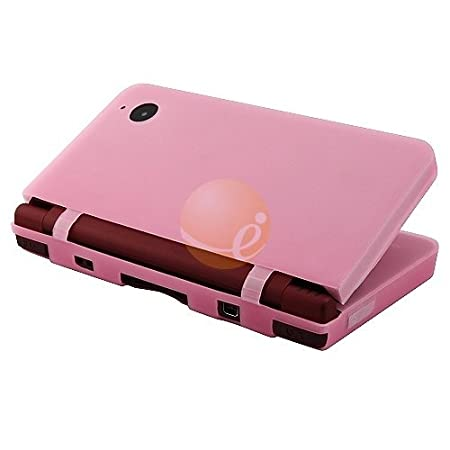 Pink Silicone Rubber Skin for Nintendo DSi XL