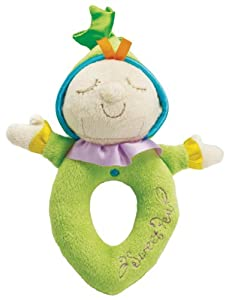 Manhattan Toy Snuggle Pods Sweet Pea Soft Rattle