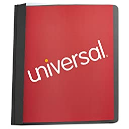 UNV57120 Universal® Cover,rpt,clear Front,bk