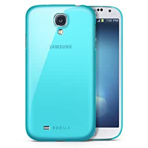 Rhema Ultra Thin Clear Case for Samsung Galaxy S4 (Tinted Cyan)