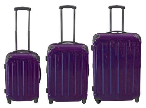 Polycarbonat ABS Kofferset 3 tlg. 70/60/50 cm