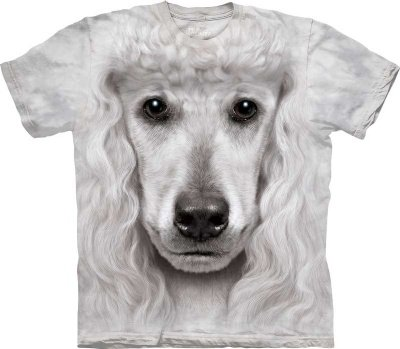 The Mountain T Shirt - Poodle Face