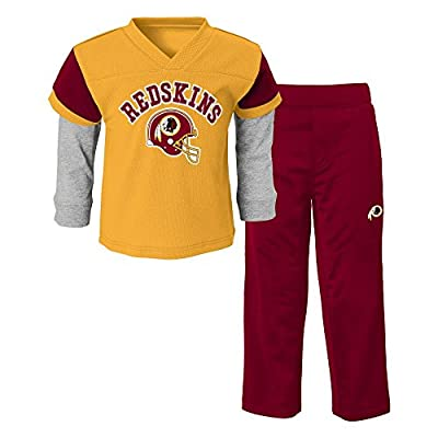 NFL Washington Redskins Infant/Toddler Jersey Style Pant Set