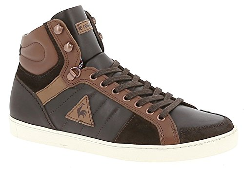LE COQ SPORTIF - Perpignan Mid Leather - 41, Marron