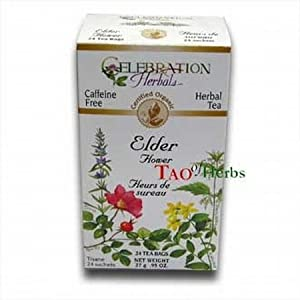 Elder Flower Tea - Certified Organic - 24 teabags