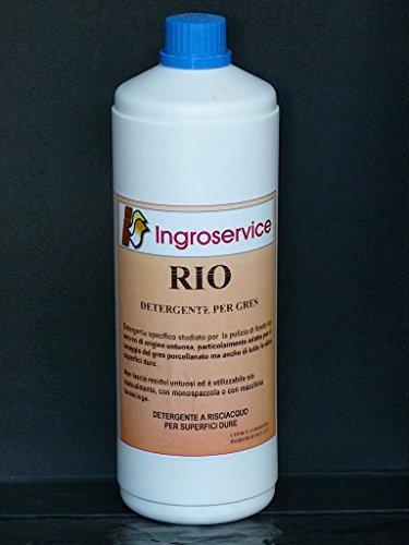 RIO Detergente pulizia di fondo PAVIMENTO gres porcellanato PATINA INGROSERVICE