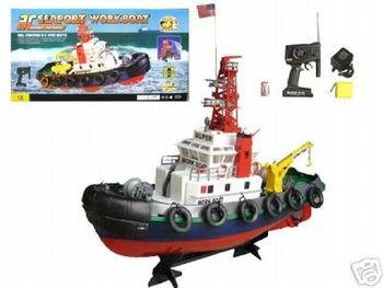 Remote Control Sea Port Tug Boat RC RTT