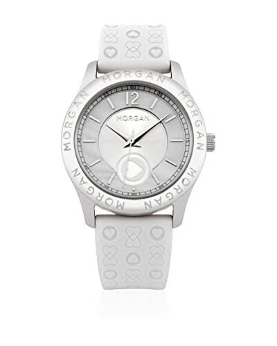 Morgan de Toi Reloj de cuarzo Woman M1132W Blanco 38 mm