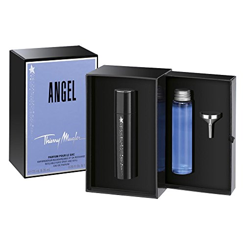 T. Mugler Angel Limited Edition Parfum pour le sac Set: EdP 7,5 ml + EdP Nachfüllung 35 ml