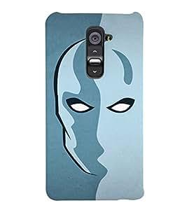 TOUCHNER (TN) Art Face Back Case Cover for LG G2::LG G2 D800 D980