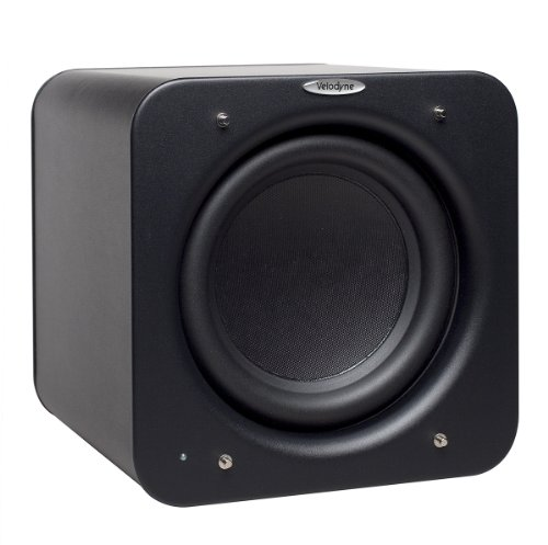 Velodyne Minivee 8-Inch Powered Subwoofer (Black)