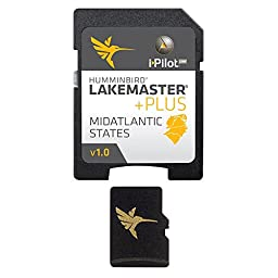 Humminbird Lakemaster Plus Mid Atlantic States Micro Sd