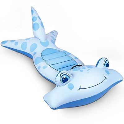 Schwimmtier aufblasbarer Hammerhai mit Griff - 114x61 cm von Bestway
