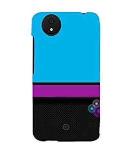 Classic Color Design 3D Hard Polycarbonate Designer Back Case Cover for Micromax Android A1 :: Micromax Canvas A1 AQ4502
