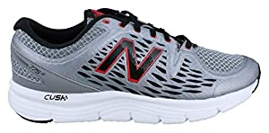 New Balance Men's M775V2 Running Shoe, Grey/Red, 14 4E US