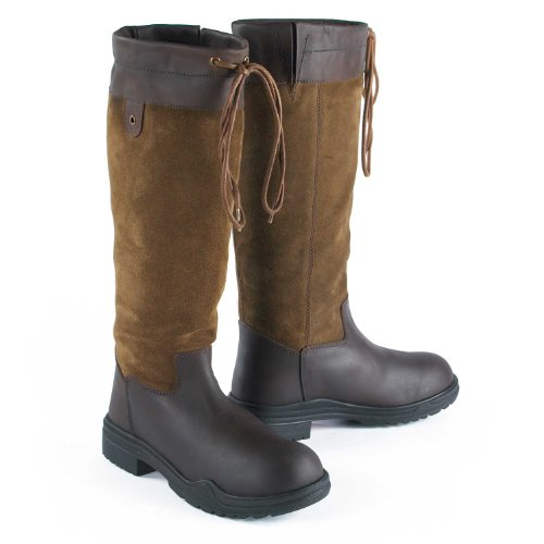 Just Togs Denver County Boots (Brown, UK 9)