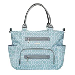 jj cole caprice diaper bag aqua radian baby. Black Bedroom Furniture Sets. Home Design Ideas