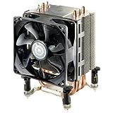 Cooler Master Hyper TX3 EVO - Ventilador de CPU (3 tubos de contacto directo de calor, ventilador de 92mm con PWM), plateado