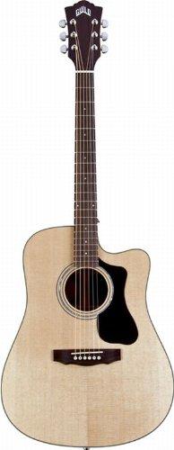 Guild D-150Ce Gad Series Dreadnought Cutaway Acoustic-Electric Guitar - Natural