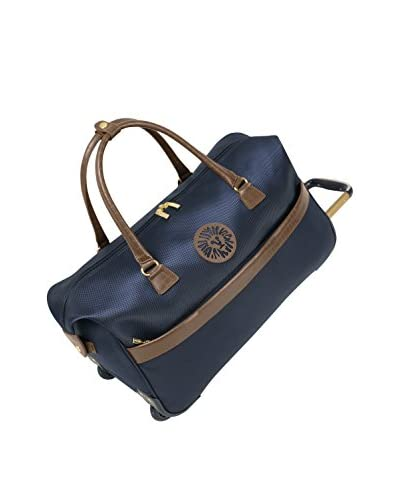 Anne Klein Newport Wheeled City Bag, Navy, 12x13x8