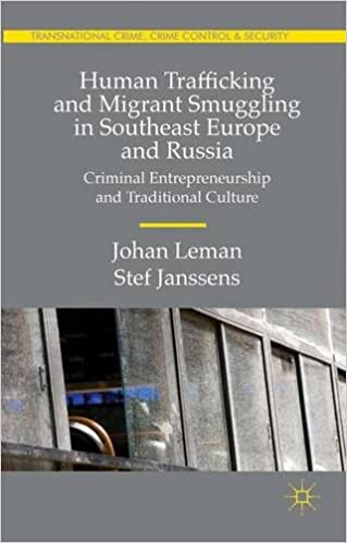 Human Trafficking and Migrant Smuggling in Southeast Europe and Russia: Learning Criminal Entrepreneurship and Traditional Culture
