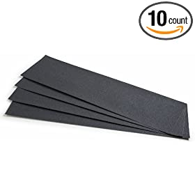 """Safety Track 3100 Non Slip High Traction Safety Tape, 80-Grit, Black, 6"""" x 24"""", (10-Pack): Industrial & Scientific"""