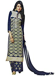 StarMart Beautiful Pakistani Style Womens Georgette Straight Dress Material RSF vol 3 - 7602