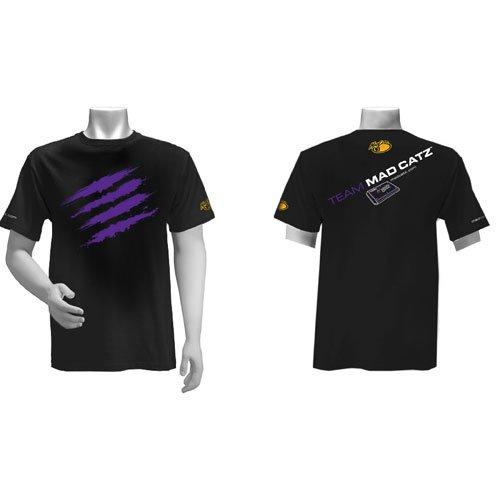 Team Mad Catz Tシャツ 黒/紫 M