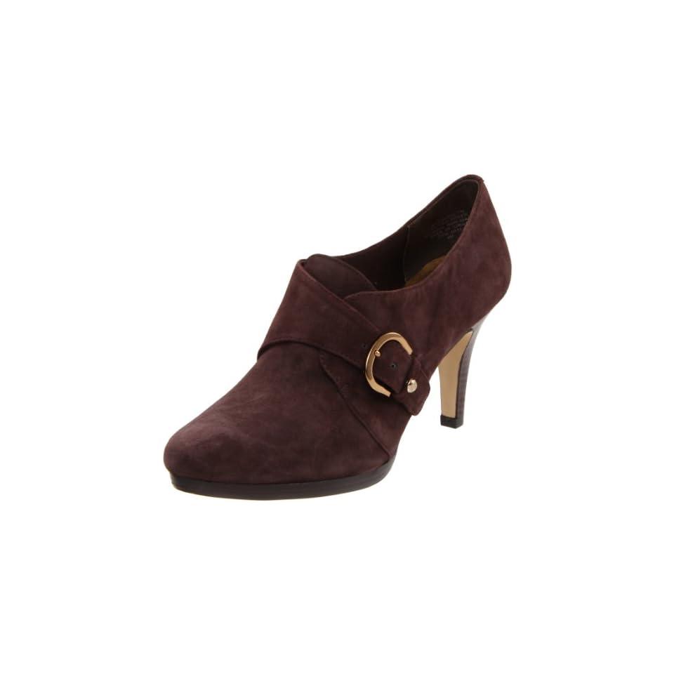 AK Anne Klein Womens Winterlyn Ankle Boot,Brown,9 M US