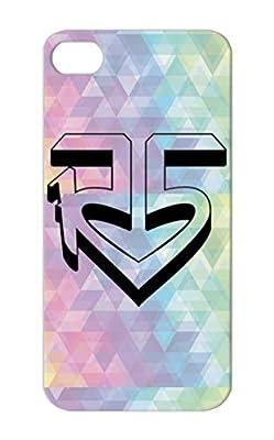 R5 Logo Black Cover Case For Iphone 5s Symbols Shapes Icons Rocky Lynch R5 Riker Rydel Ross Ellington Ratliff