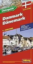 D�nemark / Denmark (Road Map)