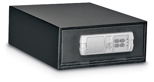 Stack-On Qas-1304 Low Profile Quick Access Safe With Electronic Lock front-880403