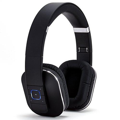 CSL 440 Auricolari Bluetooth / cuffie wireless | batteria integrata | 200 ore in standby / 10 ore per la musica/telefonia| funzione Noise Reduction | indicate per: tablet, notebook, cellulari/smartphone (Samsung, HTC, Sony, Nokia, LG, Huawei, iPhone ecc.), oltre a HiFi e console