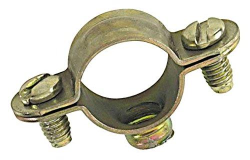 Boutt 1472931 - 10 collari fissatubo semplici per fissaggio rapido, diametro tubo: 16
