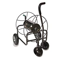 Big Sale Yard Butler HT-4EZTURN Four-Wheeled Hose Reel Cart with Easy Turn Handle