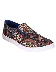 Louis Praiyo Brown Mens Casual Slip-on Shoes